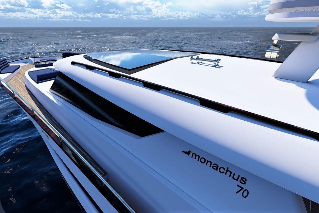 Monachus 70 luxus yacht