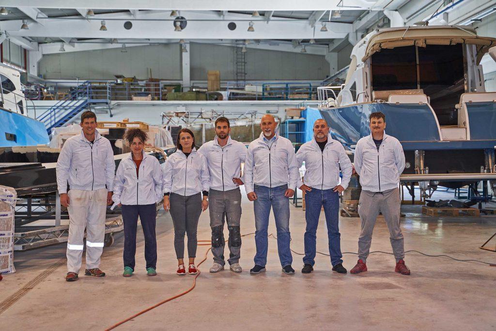 Monachus yachts service team