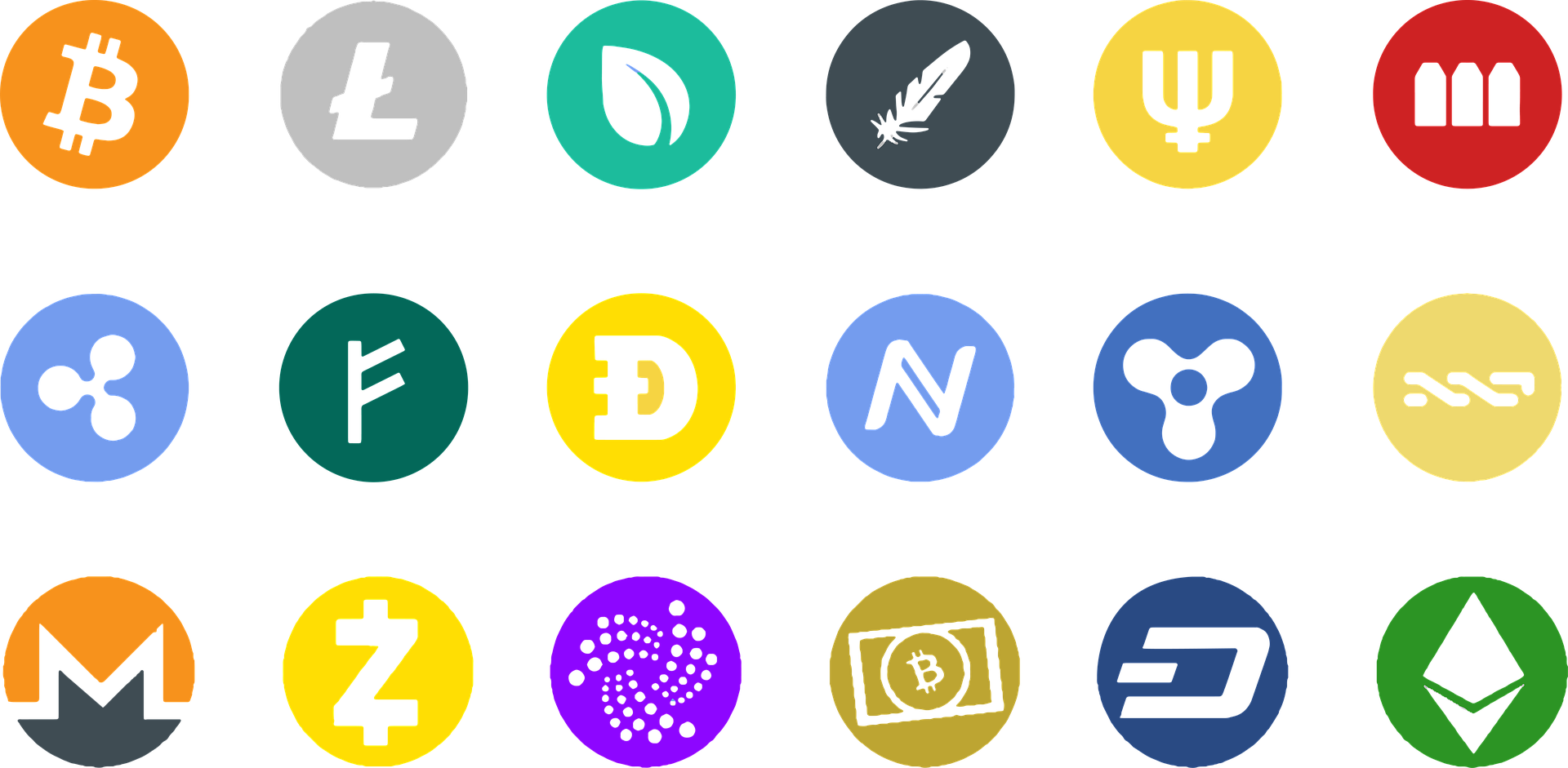 image of accept cryptocurrencies